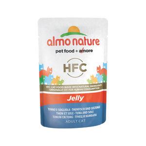 Almo Nature HFC - Jelly Tonijn & Tong - 24 x 55 gr