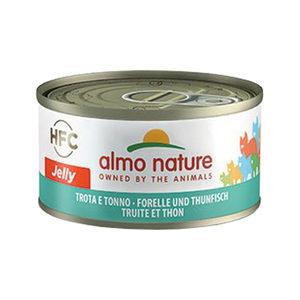 Almo Nature HFC 70 Jelly - Forel en Tonijn - 24x70g