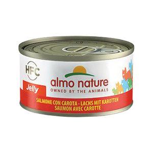 Almo Nature HFC 70 Jelly - Zalm met Wortel - 24x70g