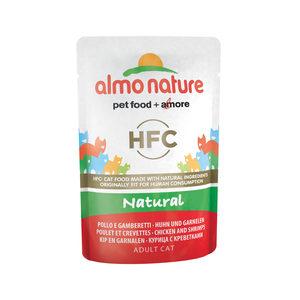 Almo Nature - HFC Natural - Kip & Garnalen - 24 x 55 gr