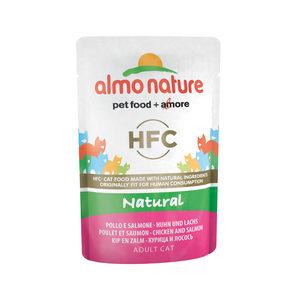 Almo Nature - HFC Natural - Kip & Zalm - 24 x 55 gr