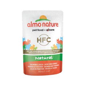 Almo Nature - HFC Natural - Zalm & Pompoen - 24 x 55 gr