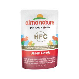 Almo Nature HFC - Raw Pack Kip en Tonijn - 24 x 55 gr