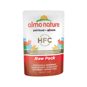 Almo Nature HFC - Raw Pack Kipfilet - 24 x 55 gr