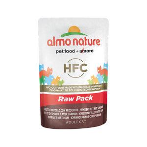 Almo Nature HFC - Raw Pack Kipfilet en Ham - 24 x 55 gr