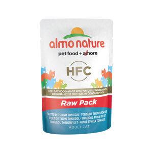 Almo Nature HFC - Raw Pack Tonggol Tonijnfilet - 24 x 55 gr