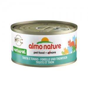 Almo Nature HFC Forel en Tonijn 24x70g