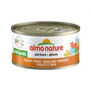Almo Nature - HFC 70 Natural - Kip en Tonijn - 24x70g