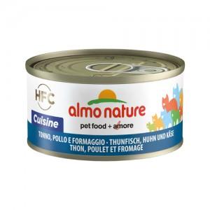 Almo Nature HFC Tonijn Kip en Kaas 24x70g