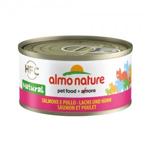 Almo Nature HFC 70 Natural - Lachs & Huhn - 24x...