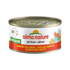Almo Nature HFC Zalm met Wortel 24x70g