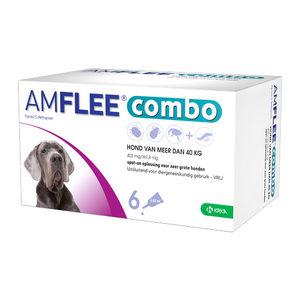 Amflee Combo Spot-on Hond – 402 mg (>40kg) – 6 pipetten