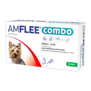 Amflee Combo Spot-on Hond – 67 mg (2-10kg) – 3 pipetten