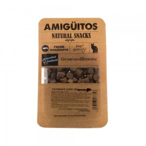 Amigüitos Cat Snacks - Lever
