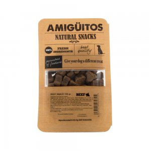 Amigüitos Dog Snack – Rund – 100 gram