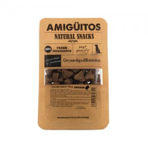 Amigüitos Dog Snack – Kip – 100 gram