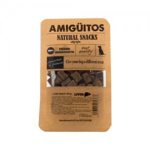 Amigüitos Dog Snack – Lever – 100 gram
