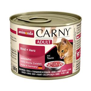 Animonda Carny Adult - Rund met Hart - 6 x 200 g