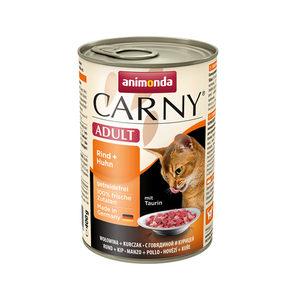 Animonda Carny Adult - Rund met Kip - 6 x 400 g