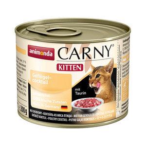 Animonda Carny Kitten - Rund met Gevogelte - 6 x 200 g
