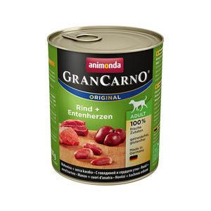 Animonda GranCarno Original Adult - Rund met Eend - 6 x 800 g