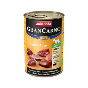 Animonda GranCarno Original Adult - Rund met Kalkoen - 6 x 400 g