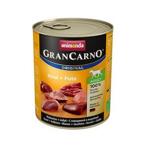 Animonda GranCarno Original Adult - Rund met Kalkoen - 6 x 800 g