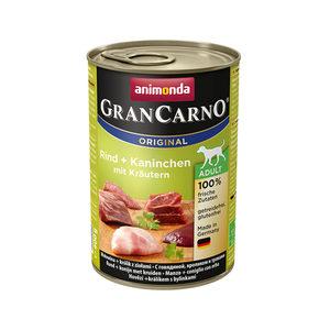 Animonda GranCarno Original Adult - Rund met Konijn en Kruiden - 6 x 400 g