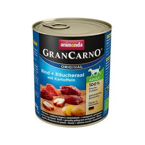 Animonda GranCarno Original Adult - Rund met Paling en Aardappel - 6 x 800