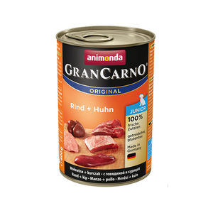 Animonda GranCarno Original Junior - Kip met Rund - 6 x 400 g