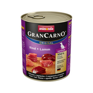 Animonda GranCarno Original Senior - Rund met Lam - 6 x 800 g