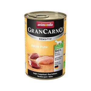 Animonda GranCarno Sensitiv - Kalkoen - 6 x 400 g