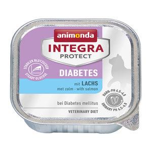 Animonda Integra Protect Cat Diabetes - Zalm - 16 x 100 g