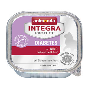 Animonda Integra Protect Cat Diabetes Rund - 16 x 100 g