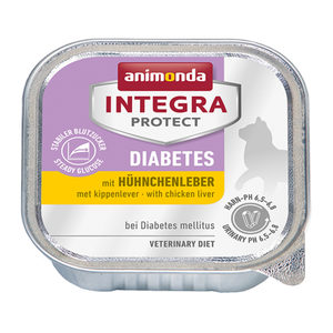 Animonda Integra Protect Cat Diabetes Kippenlever - 16 x 100 g