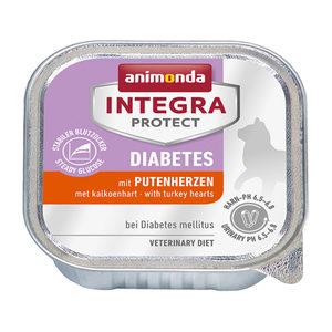 Animonda Integra Protect Cat Diabetes Kalkoenhart - 16 x 100 g