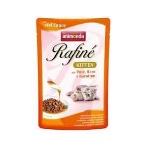 Animonda Rafiné - Kitten kalkoen/hart/wortel - 12x100 gr.
