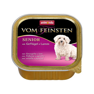 Animonda Vom Feinsten Senior Dog - Gevogelte & Lam - 22 x 150 g