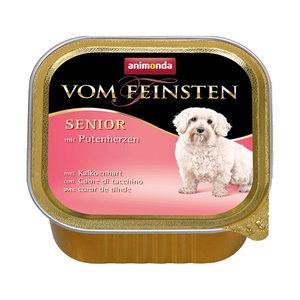 Animonda Vom Feinsten Senior Dog - Kalkoenhart - 22 x 150 g