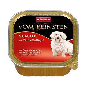 Animonda Vom Feinsten Senior Dog - Rund & Kip - 22 x 150 g