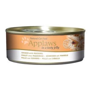 Applaws Cat - Jelly - Chicken & Mackerel - 24 x 156 g