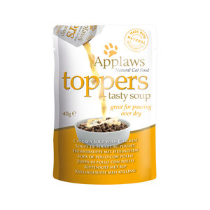 Applaws Cat – Toppers – Chicken in Chicken Soup – 3 x 40 g