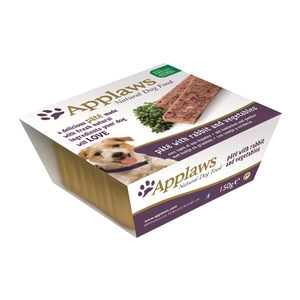 Applaws Dog - Paté with Rabbit & Vegetables - 7 x 150 g