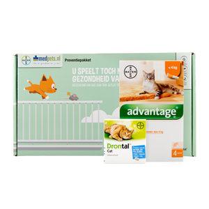 Bayer Preventiepakket Binnenkat - 0-4 kg