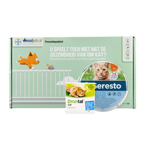 Bayer Preventiepakket Buitenkat - 0-4 kg