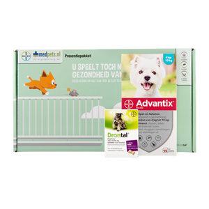 Bayer Preventiepakket Hond 4-10 kg