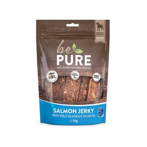 Be Pure Dog Salmon Jerky - 70 gram