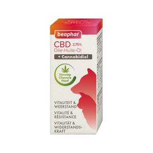Beaphar CBD Olie 2,75% – 10 ml