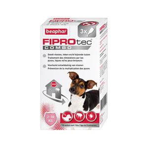 Beaphar Fiprotec Combo Hond 2-10 kg – 3 pipetten