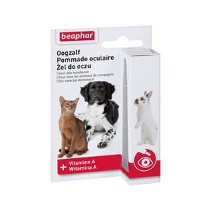 Beaphar Oogzalf voor hond en kat 5 ml